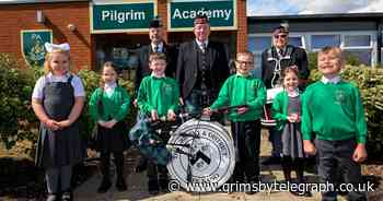 Pupils get the real sound of Scotland with special bagpipes performance - Grimsby Live