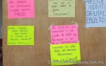 Toman extrabajadores alcaldía de Tepalcingo - El Sol de Cuautla