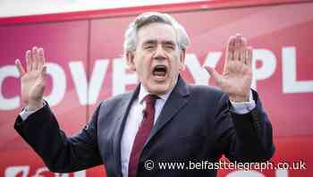 Gordon Brown: If PM loses Scotland, that is all he'll be remembered for - Belfast Telegraph