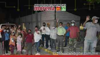 SIGUE ARACELI CELESTINO ROSAS CON RECORRIDOS EN TEHUACÁN - Tehuacán Digital
