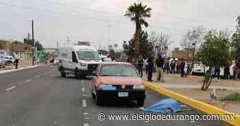 Varón perece arrollado en bulevar De las Rosas - El Siglo Durango