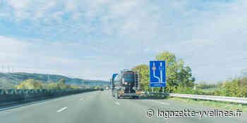 Guerville - A13 : Poids lourds et véhicules légers désormais séparés | La Gazette en Yvelines - La Gazette en Yvelines