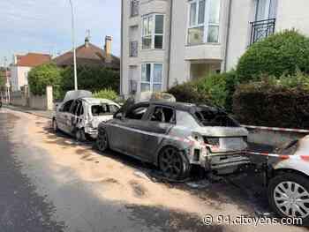 Bry-sur-Marne : un incendie détruit trois véhicules - 94 Citoyens