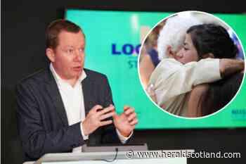 Covid Scotland: Professor Jason Leitch gives hugging guidance - HeraldScotland
