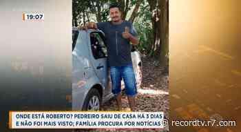 Pedreiro está desaparecido em Igarapava - Record TV