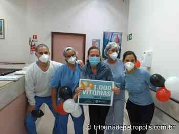 Sopro de esperança no combate à covid: Hospital Santa Teresa chega à milésima alta | Tribuna de Petrópolis - Tribuna de Petrópolis