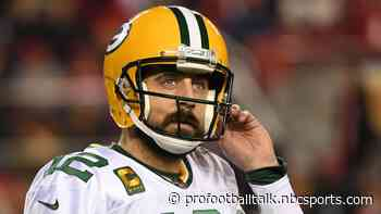 Aaron Rodgers gets the FOX late afternoon slot Week One, whether with Packers or Broncos