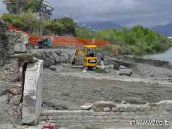 Albenga, primi ritrovamenti a San Clemente: trovata una grande piscina delle terme romane - IVG.it