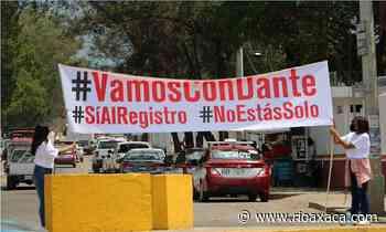 Tapizan calles de Santa Lucía con publicidad a favor de Dante Montaño - RIOaxaca