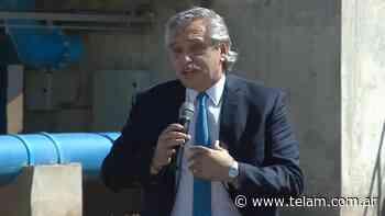 El Presidente visitará un centro de vacunación en Pilar - Télam