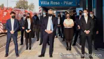El Presidente visitará hoy el centro de vacunación del K46 - Pilar a Diario