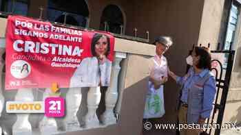 Buscará Cristina optimizar policía en Guadalupe - POSTA