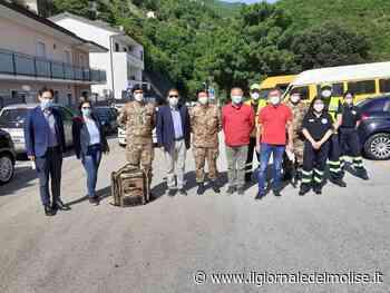 Sesto Campano, vaccinazioni domiciliari a cura dell'esercito italiano - Il Giornale del Molise