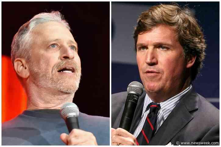 'Crossfire' Intern Recalls Jon Stewart-Tucker Carlson Interview: 'Everyone Was Shocked' - Newsweek
