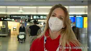 Curling-WM - Applaus am Flughafen: Die Curling-Weltmeisterinnen sind wieder zurück in der Schweiz - St.Galler Tagblatt