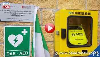 Nuovo defibrillatore a Tortona in ricordo del vicecomandante Gastaldo - Telecity News 24