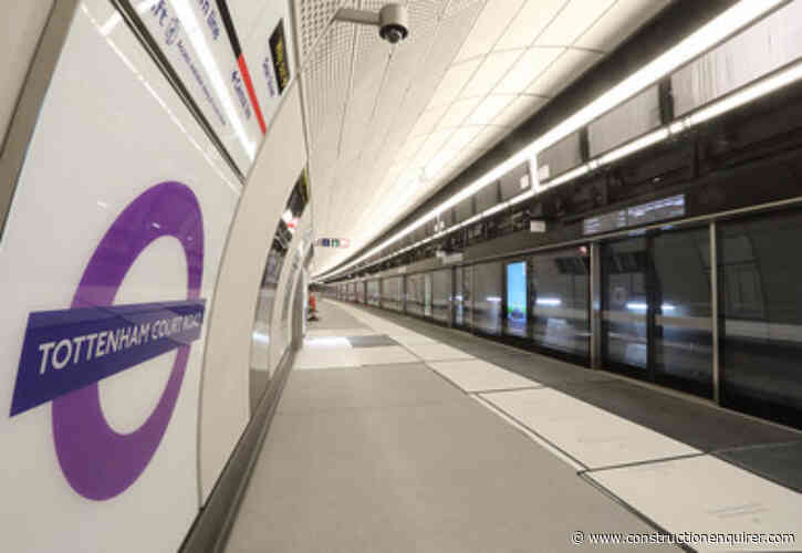First trains start running in Crossrail trial