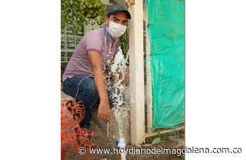 Los Almendros y Betania con mejor servicio de agua - HOY DIARIO DEL MAGDALENA