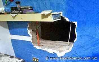 Ratero hace boquete para sustraer herramienta de una vivienda - El Sol del Centro