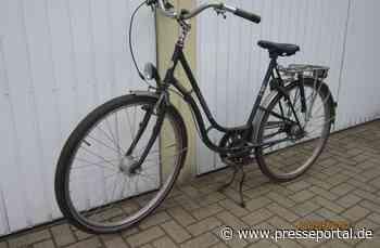 POL-HK: Schwarmstedt: Polizei sucht Eigentümer eines Fahrrads (Fotos anbei; Walsrode: Diebe haben es auf... - Presseportal.de
