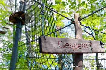 Aktuell sind sie generell geschlossen. Kletterparks wollen ihre Eröffnung ... | SÜDKURIER Online - SÜDKURIER Online