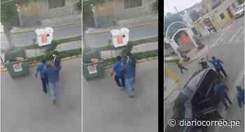 Asesor externo del alcalde de Moche le propina una cachetada a un ciudadano en la vía pública - Diario Correo