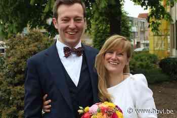 Anne-Victoire en Gert-Jan in Zonhoven (Zonhoven) - Het Belang van Limburg Mobile - Het Belang van Limburg