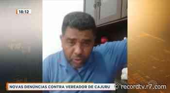 Novas denúncias contra vereador de Cajuru - RecordTV Interior SP - R7 Cidade Alerta - Record TV