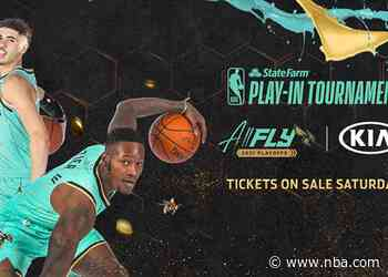 Hornets Tickets for State Farm Play-In Tournament and First Round of NBA Playoffs On Sale Saturday