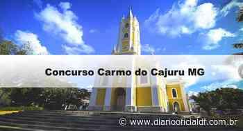 Concurso Carmo do Cajuru MG: Inscrições abertas. Veja! - diariooficialdf.com.br