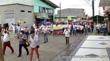 Con manifestación pacífica, Villagarzón se volcó a las calles en respaldo al paro nacional - Conexión Putumayo