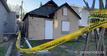 Body found at burned home on Simcoe Street - Globalnews.ca