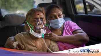 COVID Terus Melonjak, New Delhi Perpanjang Lockdown! - detikNews