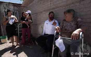 Recorre Juan Carlos Loera colonias marginadas en Nuevo Casas Grandes - El Diario