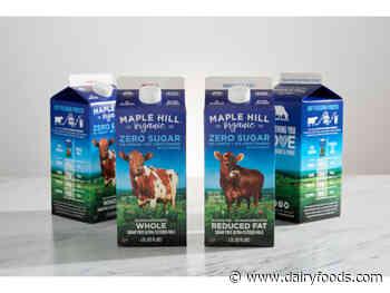 Maple Hill Creamery releases zero-sugar organic milk
