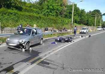 Velletri | Ragazzo di Anzio coinvolto in un grave incidente con la moto contro una macchina. Elisoccorso e trasporto al San Camillo - ilmamilio.it - L'informazione dei Castelli romani