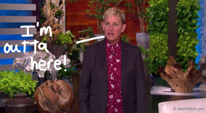 Ellen DeGeneres To End Her Talk Show: 'It's Just Not A Challenge Anymore'