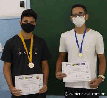 Alunos de Mangaratiba são premiados na Olimpíada Nacional de Ciências - Diario do Vale
