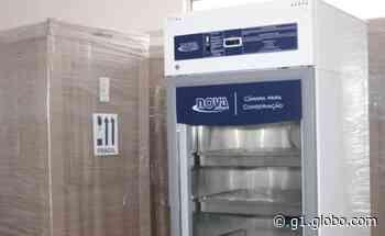 Município de Nossa Senhora do Socorro recebe 10 câmaras frias para conservação de vacinas contra a Covid-19 - G1