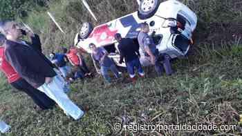 BR-116 Criança morre atropelada em acidente envolvendo viatura da PM em Cajati 10/05/2021 - Adilson Cabral