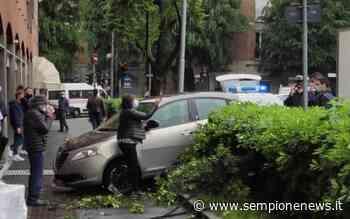 Incidente a Rho: coppia di anziani sfonda una siepe con l'auto - Sempione News