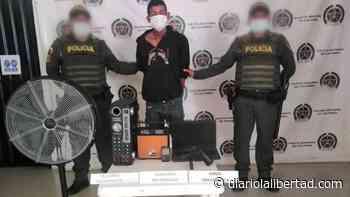 Policía frustró robo a una vivienda en El Banco y capturó al delincuente - Diario La Libertad