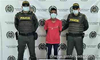 Cae un hombre con un arma sin papeles en El Banco, Magdalena - El Informador - Santa Marta