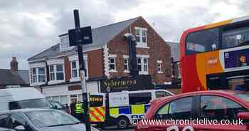'Armed police' pull over bus after male 'found with kitchen knife'