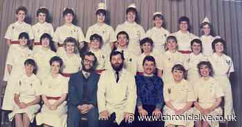 On International Nurses Day, Gateshead nurses share photos of their early days