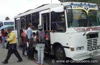 Transportistas de Ciudad Ojeda paralizaron sus actividades para exigir aumento de pasaje - El Carabobeño