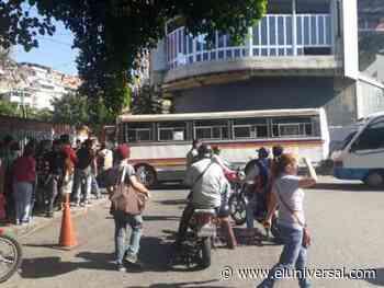 Protestan por gasoil en Sabaneta de Barinas - El Universal (Venezuela)