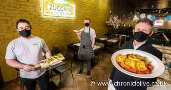 See Metrocentre's new Zucchini Pasta Bar as it prepares to open its doors