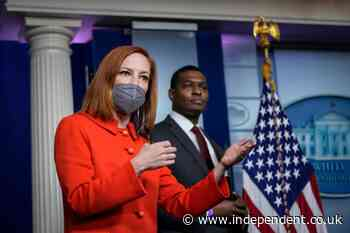 Psaki admits she is 'tired of wearing a mask' and says White House understands Americans' frustrations