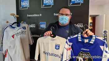 Sébastien Louault collectionne les maillots de l'AJ Auxerre - France Bleu